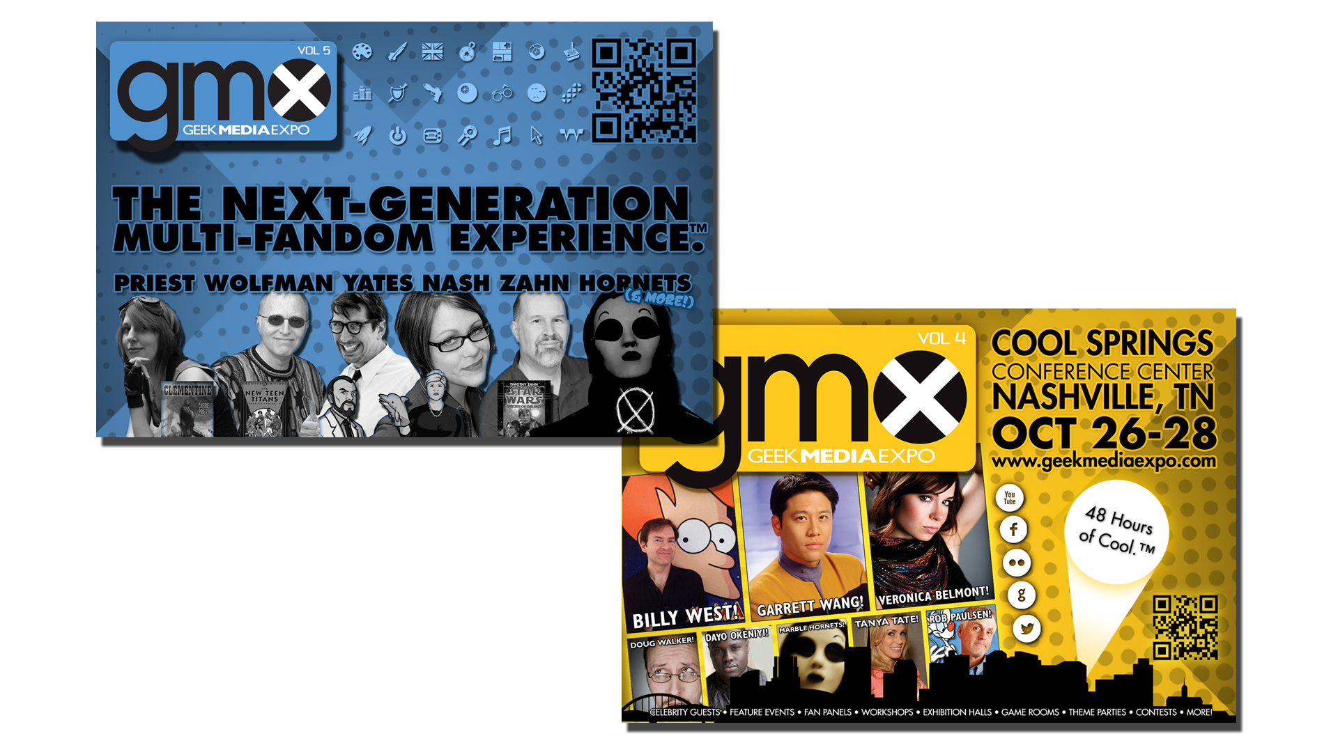 Geek Media Expo Flyers