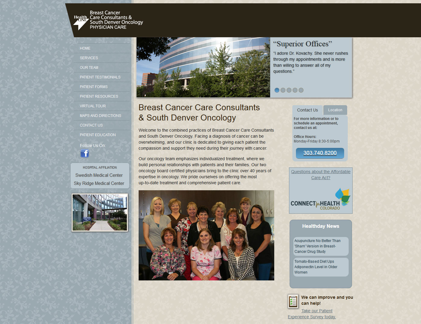 Breast Cancer Care Consultants & South Denver Oncology